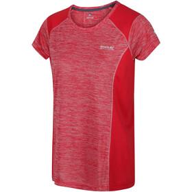 Regatta Breakbar V T-Shirt Dames, red sky
